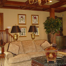 Traditional Living Room by Kenneth/Davis, Inc.