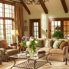 Traditional Living Room by Letitia Little Interior Design