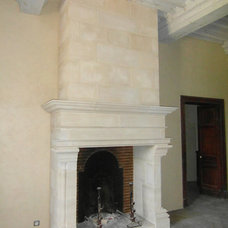 Traditional Living Room by Ancient Surfaces