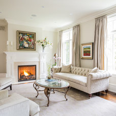Traditional Living Room by Silvergate Homes Ltd.