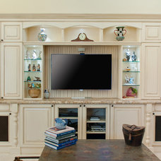 Traditional Living Room by Allied Kitchen and Bath