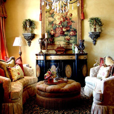 Traditional Living Room by Lisman Studio Interior Design