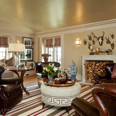 Traditional Living Room by Barclay Butera Interiors