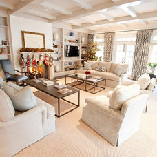 traditional living room by Munger Interiors