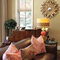 Traditional Living Room by Alison Whittaker Design, Inc.