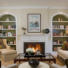 Traditional Living Room by Annette English