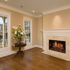 Traditional Living Room by Whitestone Builders