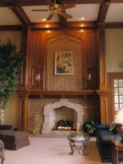 Best Tudor Fireplace Design Ideas Amp Remodel Pictures Houzz