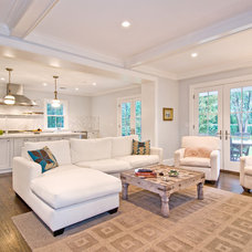 Traditional Living Room by Benco Construction