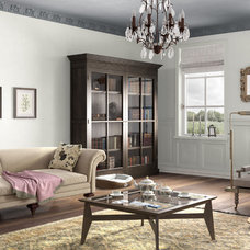 Traditional Living Room by Benjamin Moore