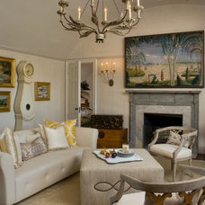 Traditional Living Room by betsy berner interiors llc