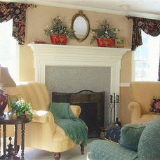 Traditional Living Room by Carol Beck Interiors