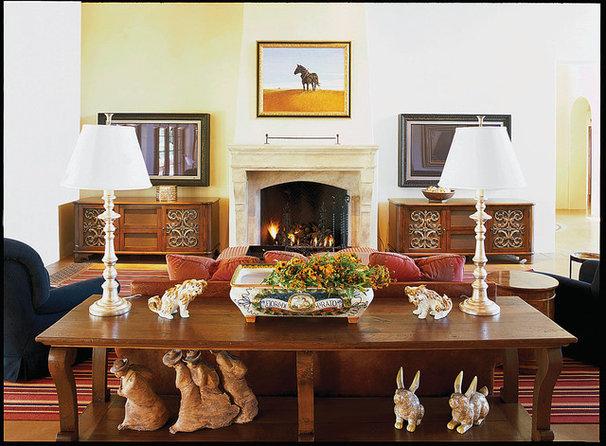 Traditional Living Room by Carson Poetzl, Inc.