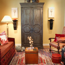Traditional Living Room by Cheryl Ketner Interiors