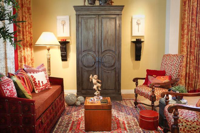 Traditional Living Room by Cheryl Ketner Interiors