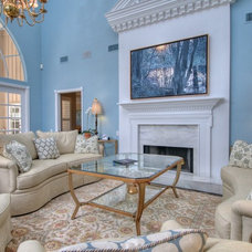 Traditional Living Room by Chic on the Cheap