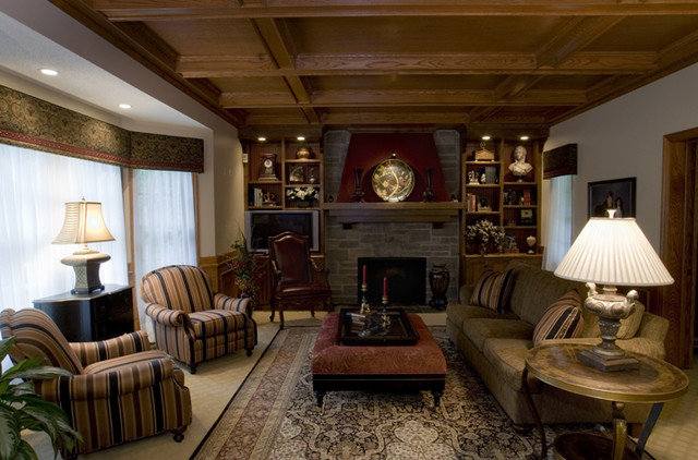 Traditional Living Room by Connie Wersal-LaVelle, Allied ASID
