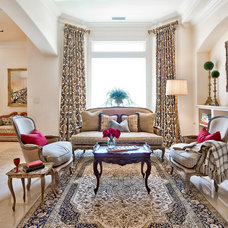 Traditional Living Room by Count & Castle Designs