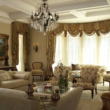 Traditional Living Room by Design Concepts/Interiors, LLC