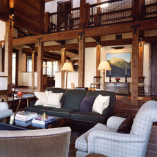Rustic Living Room Traditional Living Room