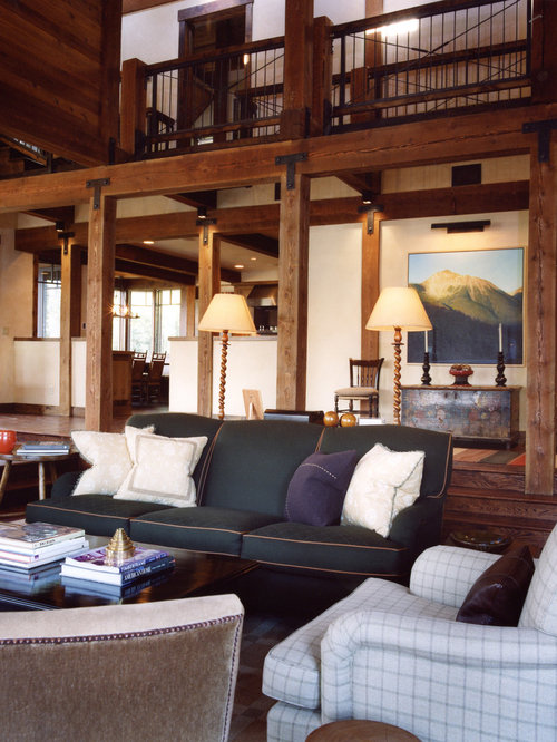 Creating A Rustic Living Room Decor: Post And Beam Ideas, Pictures, Remodel And Decor