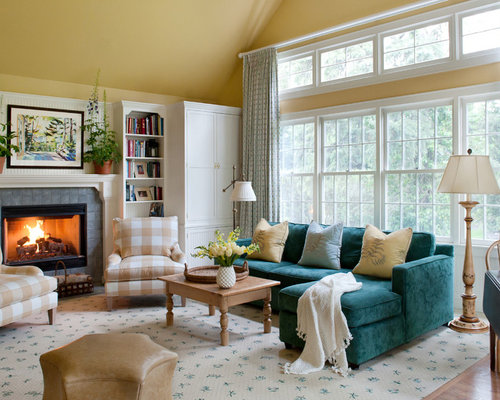teal couch living room teal furniture houzz 15430