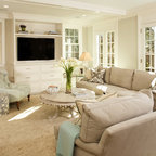 Living Room Traditional Living Room Austin By