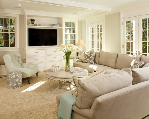 SaveEmail. Traditional Living Room - Living Room Storage Houzz