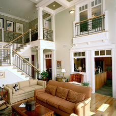 Traditional Living Room by McConnell & Ewing