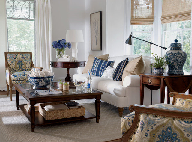 Traditional Living Room by Ethan Allen