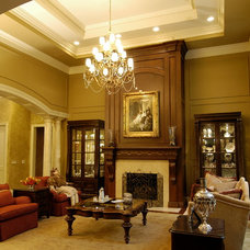 Traditional Living Room by Foran Interior Design