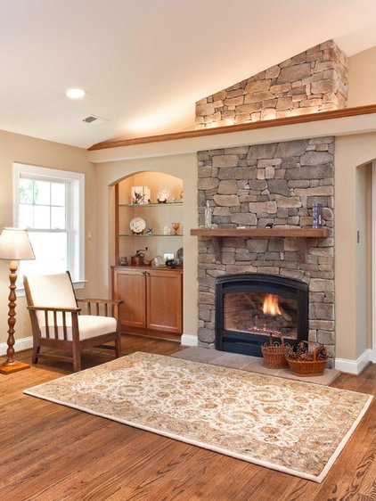 Traditional Living Room by Foster Remodeling Solutions, Inc.