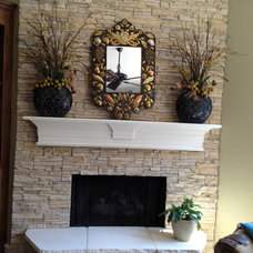 Traditional Living Room by Gigi's Designs, CID