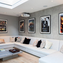 Movie Posters in Stylish Home Settings