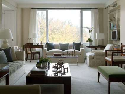 Traditional Living Room by Prentice Interiors