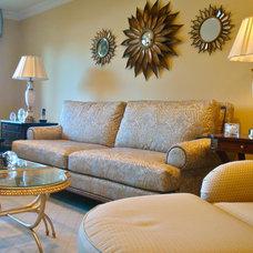 Traditional Living Room Linda Yepez ASID, Linda Yepez Interiors LLC