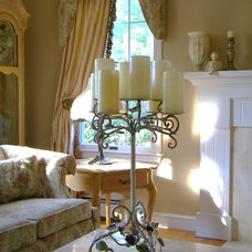 traditional living room by Amy of  Maison Decor