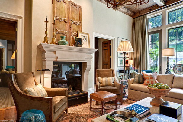 Traditional Living Room by Jason Arnold Interiors