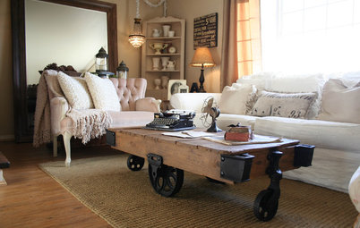 Shop Houzz: Composing Your Coffee Table Area