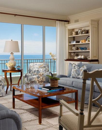 Traditional Living Room by Jill Shevlin Design