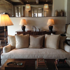 Traditional Living Room by Kate Jackson Design