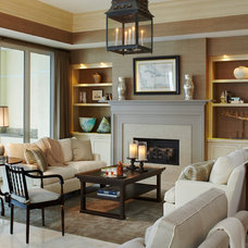 Traditional Living Room by L K DeFrances & Associates