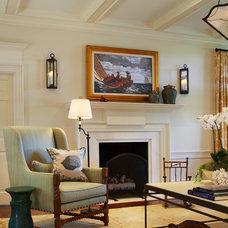 Traditional Living Room by L K DeFrances & Associates