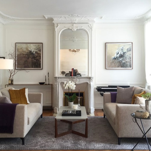 parisian living room ideas & design photos | houzz