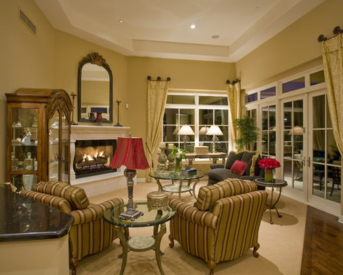 Exellent Traditional Living Room Curtains I Throughout Decorating