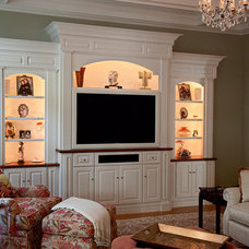 Traditional Living Room by Lisa Davenport Designs