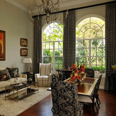 Traditional Living Room by Lisa Michael Interiors