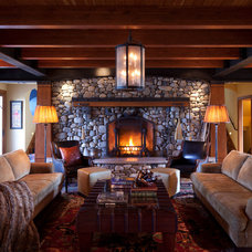 Traditional Living Room by MA Peterson Designbuild, Inc.