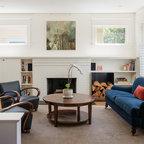 American Modern Thomas O Brien Traditional Living Room