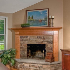 traditional living room by Mitchell Construction Group